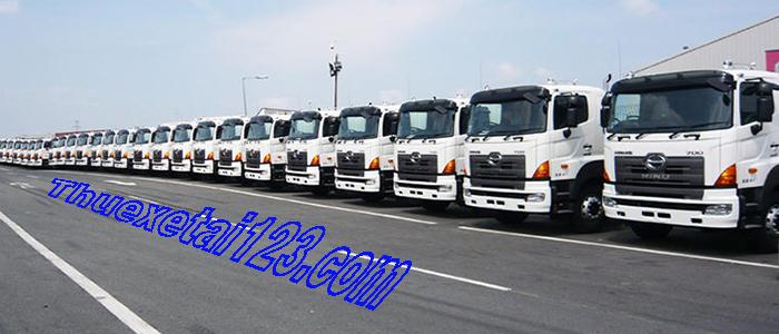 Cho thuê xe tải chạy Bắc Nam