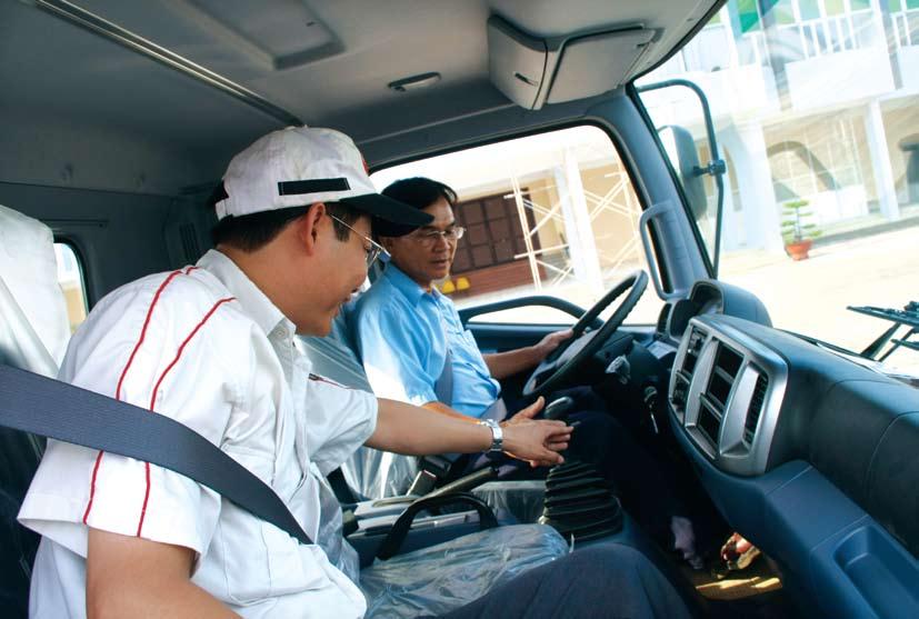 Lái xe tải 123